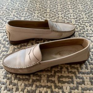 Tod's Cream Loafers